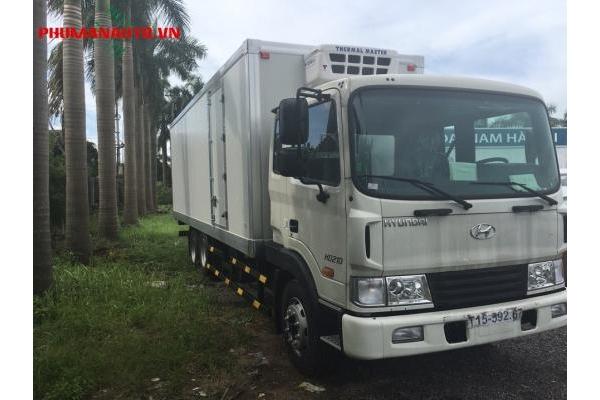 Xe tải Hyundai HD210 13.5 Tấn thùng đông lạnh